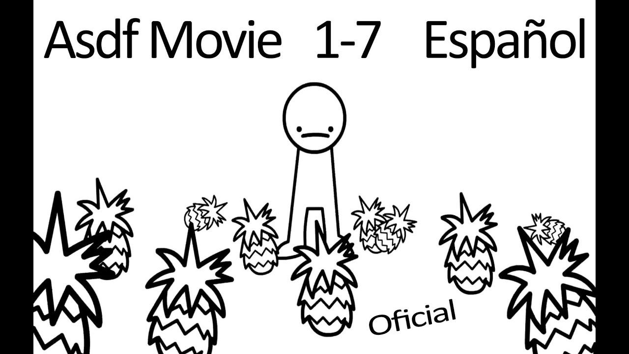 Asdf Movie 1-7 Oficial Español [1080p HD] + Escenas Eliminadas