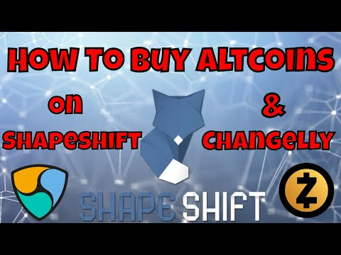 How To Buy Altcoins On Shapeshift And Changelly (For Beginners)