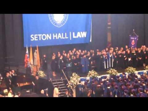 Seton Hall Law Graduation