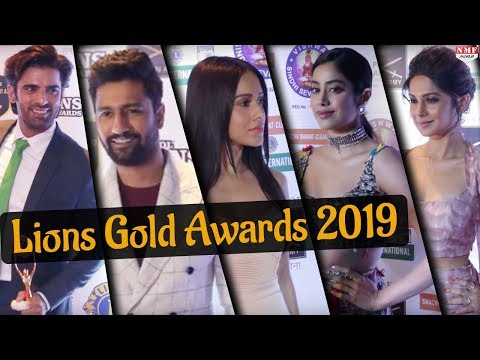 Lions Gold Awards 2019 | Janhvi Kapoor | Vicky Kaushal  | Nusrat | Full Show