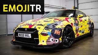 EmojiTR: Car Throttle's Crazy Gumball 3000 Car!