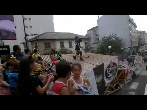 Comienza el Descenso Urbano de Sarria