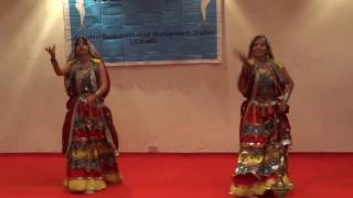 Mhare Hiwde mein jagi dhogri- Dance Performance -JDBIMS