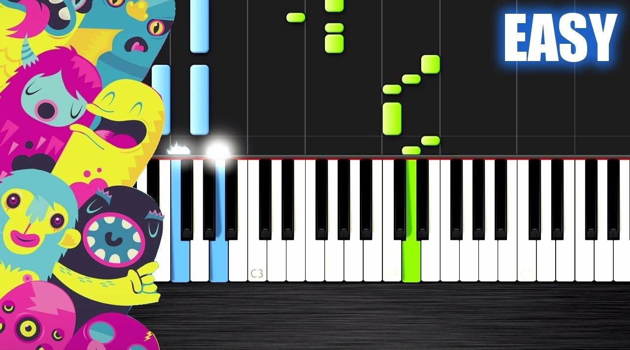 OMFG - Hello - EASY Piano Tutorial by PlutaX