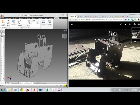 Metal fabrication modeling on Autodesk Inventor