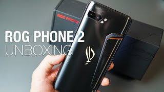 ASUS ROG Phone 2 Unboxing and First Look!