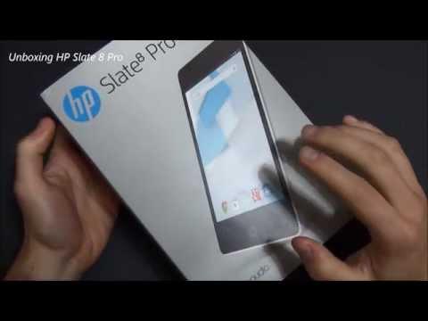 HP Slate 8 pro unboxing ita da EsperienzaMobile