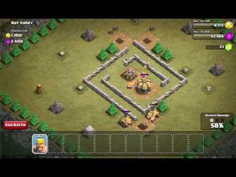 Clash Of Clans - Level 10 Rat Valley