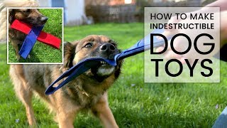 How to Make Heavy Duty Nylon Dog Toys