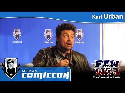 Karl Urban (Star Trek, Dredd) - Ottawa ComicCon