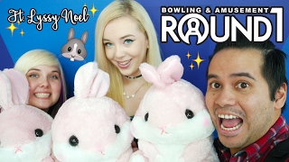 UFO catcher collab with Lyssy Noel at Round 1 Moreno Valley! | The Crane Couple