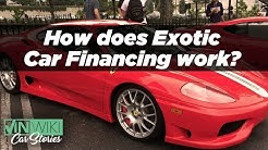 How does Exotic Car Financing work?