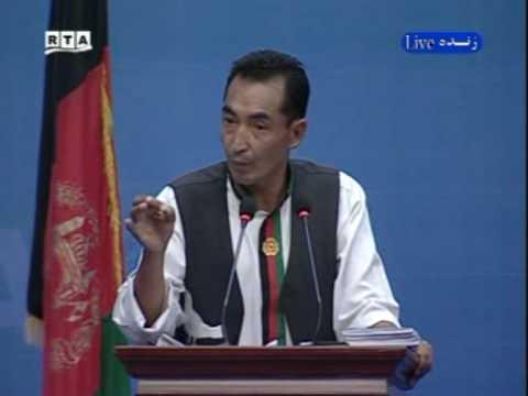 Afghan Presidential Debate By Radio Azadi and RTA Part 6
