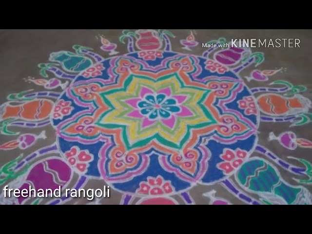 My collections of rangoli