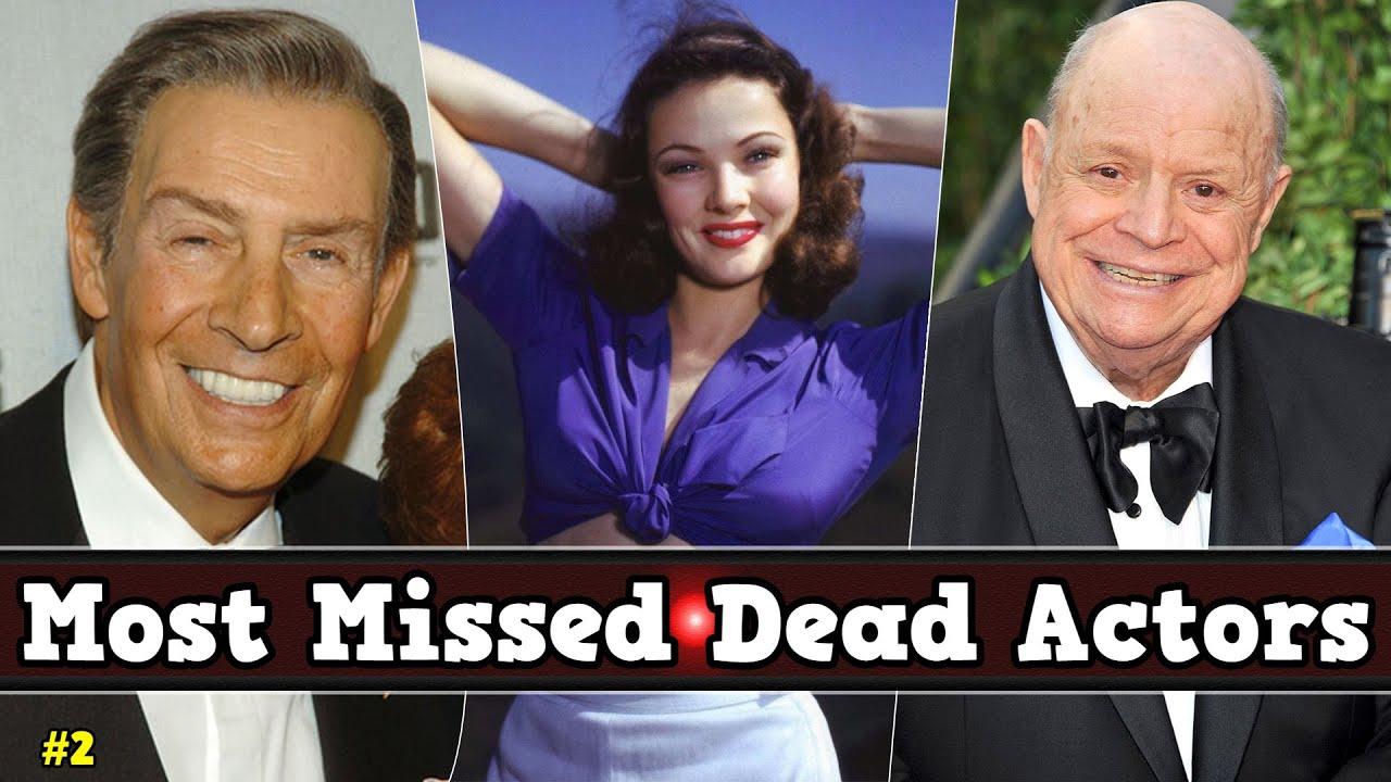 Top Best Most Missed Dead Actors List - #2
