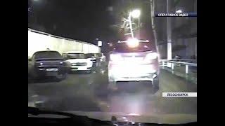 Пьяная женщина с ребенком в автомобиле пыталась скрыться от полицейских