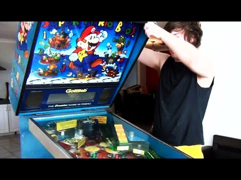 I Got a 90's Mario Pinball Machine
