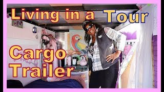 Miss JJ Cargo Trailer Tour--Still delivering RVs