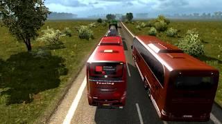 Shohagh Premium   Dhaka to Benapole   Euro Truck Simulator 2