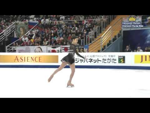 "(No Commentary) Yuna Kim FS ""Homage to Korea"" - 2011 World Figure Skating Championships"