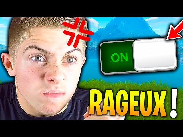 MODE RAGEUX ACTIVÉ SUR FORTNITE BATTLE ROYALE !!