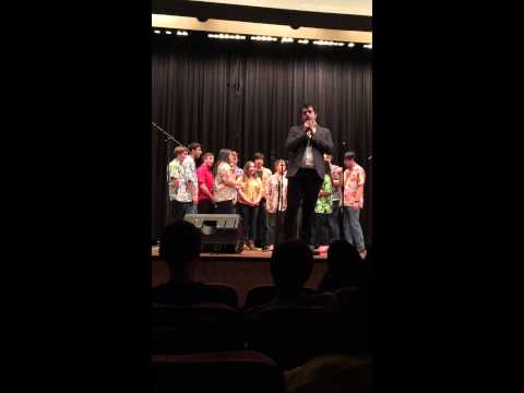 Mental Notes Perform at ICCAs 2015