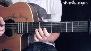 พันหมื่นเหตุผล - KLEAR Fingerstyle Guitar Cover by Toeyguitaree (TAB)