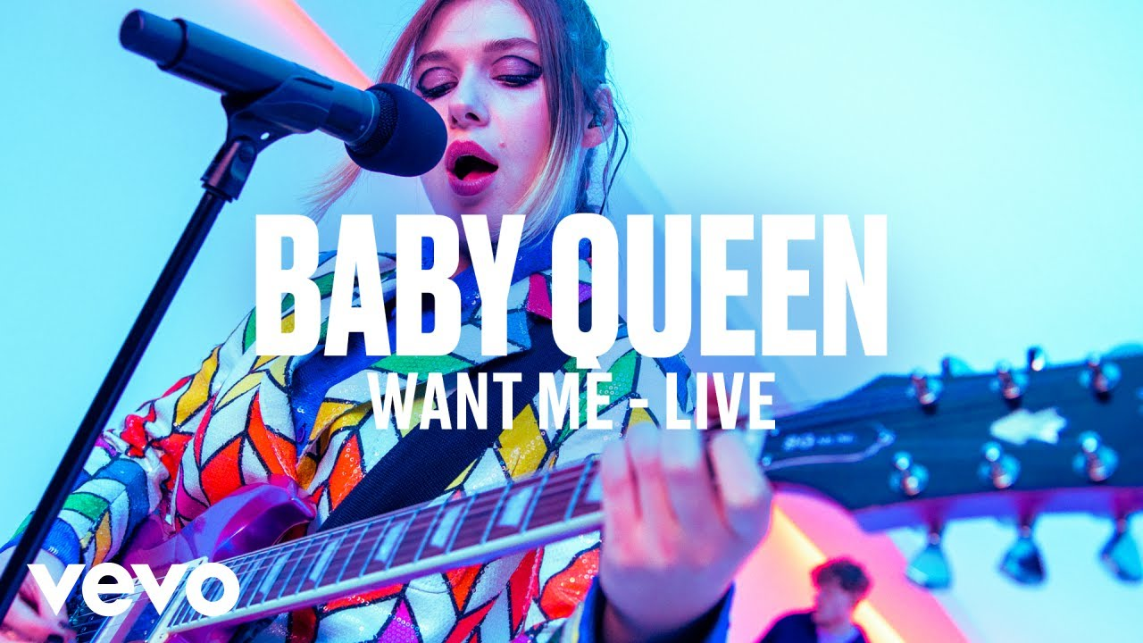 Baby Queen - Want Me (Live) | Vevo DSCVR