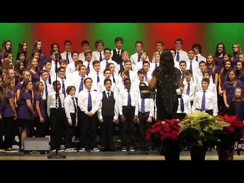 """Phoenixville Area Middle School 7th and 8th Grade Chorus: """"Someday at Christmas"""""""