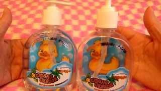 Обзор детского жидкого мыла Страна Чудес из магазина Ашан