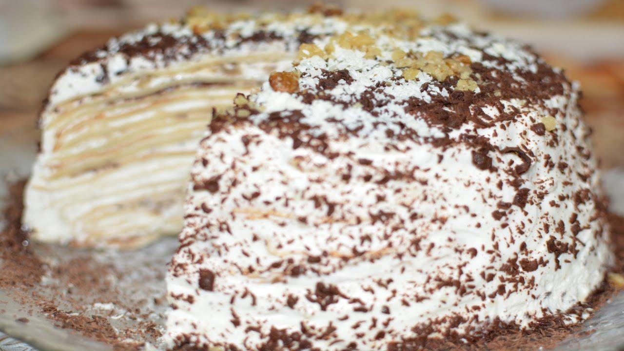 блинный торт рецепты ютуб видео