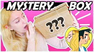 DRAWING STUFF FROM AN ANIME MYSTERY BOX?!