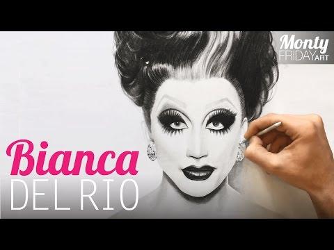 Drawing Bianca Del Rio 👑 - Realism Art #10