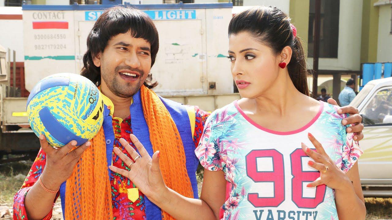 निरहुआ की ग्यारह चुम्मे की कहानी - Nirahua Hindustani 2 - Best Comedy Scene 2021