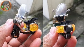 How to Make Tiny Vespa Scooter Toys from Cheap Lighters | Limbah Korek Gas