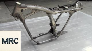 How to Paint a Motorcycle Frame