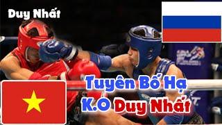 Full Trận Nguyễn Trần Duy Nhất vs Võ Sĩ Nga | Trận Đấu Khó Khăn Của Nhất 2018