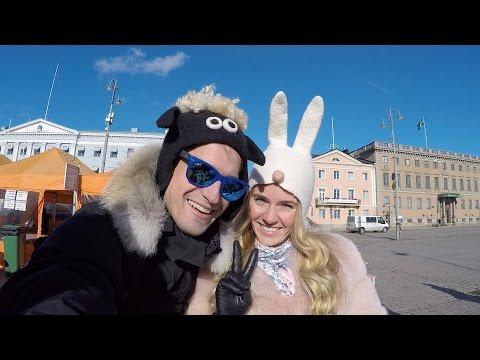 Хельсинки. Паром в Стокгольм. Viking Line. Как добраться в Стокгольм на Пароме. Валентин Фокин