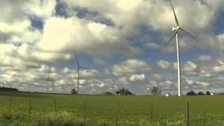 Energia  EÓLICA en ciudad de LIBERTAD URUGUAY