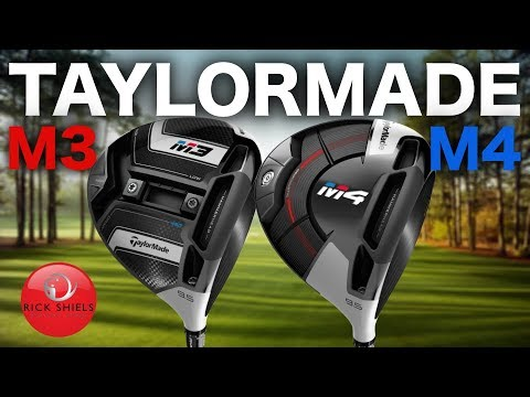 NEW TAYLORMADE M3 DRIVER & M4 DRIVER