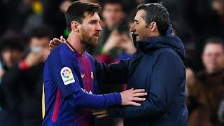 La pelea de Messi con el DT del Barcelona