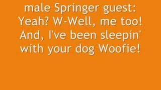 Weird Al: Jerry Springer (mp3 link in description)