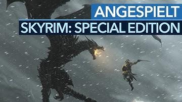 Skyrim Special Edition - Angespielt: Für wen lohnt sich die HD-Version?