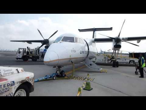 United Express (Commut Air ) / Newark - Rochester / UnitedEconomy / DH8-200 / SEP2015