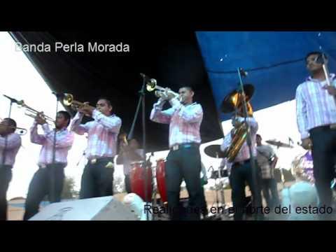 Banda Perla Morada en el to Aniversario de la Banda Hnos. Galvan Jr.