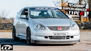 450BHP ROTREX SUPERCHARGED!! EP3 CIVIC TYPE R