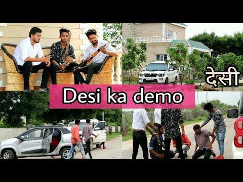 DESI KA DEMO || dollar song sidhu moose Wala by king of Rajasthan Piyush || KORP