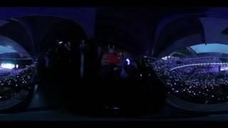 360° video of Coldplay at Wembley (June 19th)