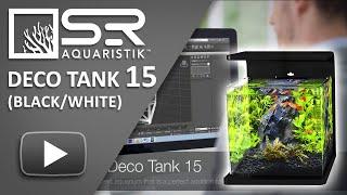 Sr Aquaristik Deco Tank 15 Aquarium
