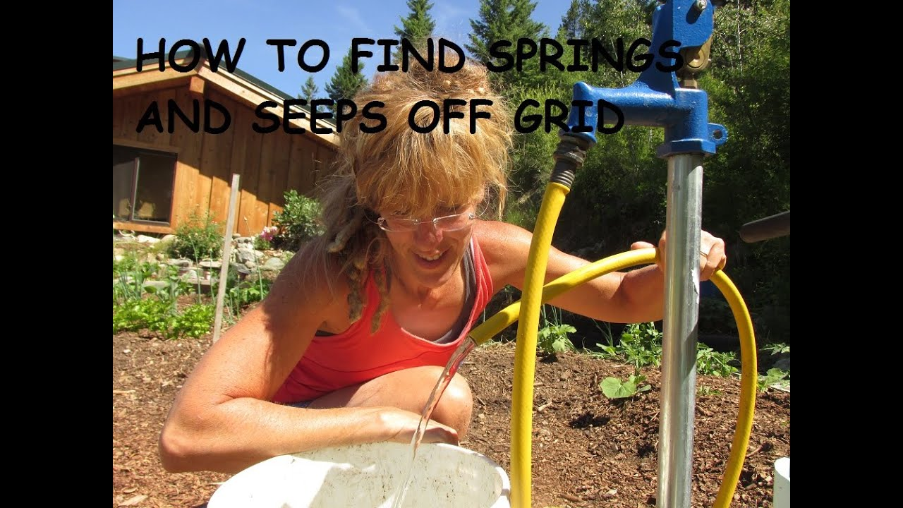 Off Grid Water: How To Find A Spring Or Seep - YouTube